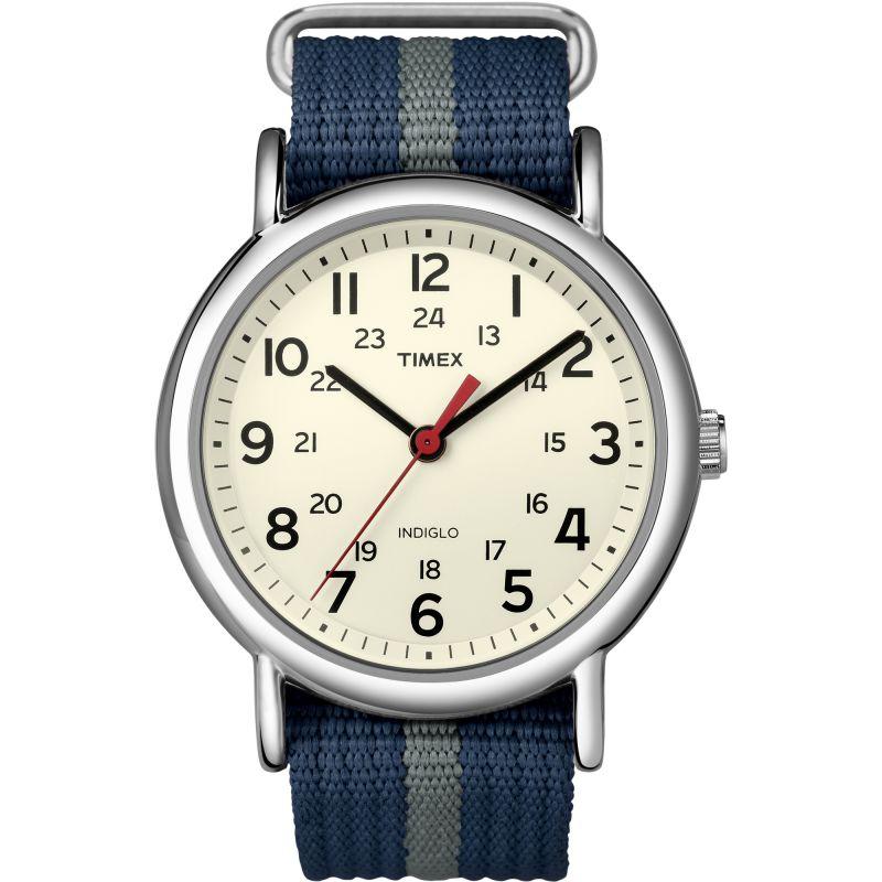 Unisex Timex Indiglo Weekender Watch T2N654