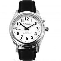 Herren Lifemax RNIB Talking Atomic Alarm Radio Controlled Watch 407.2