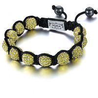 unisexe Shimla Jewellery Yellow Bracelet Small Watch SH-033S