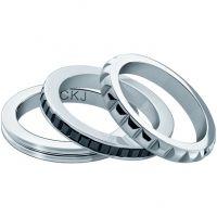 femme Calvin Klein Jewellery Astound Ring Size P Watch KJ81BR050108