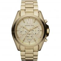 Damen Michael Kors Bradshaw Chronograph Watch MK5605