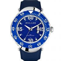 Holler Goldwax Blue Herenhorloge Blauw HLW2188-5