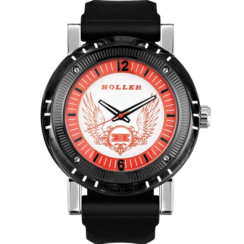 Mens Holler Black Magic Red Watch HLW2197-5