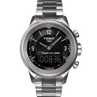 Herren Tissot T-Touch klassisch Wecker Chronograf Uhr