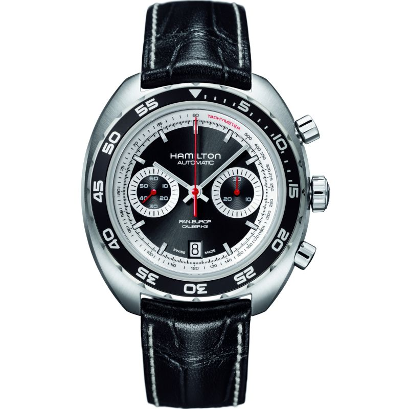 Mens Hamilton Pan Europ Automatic Chronograph Watch H35756735