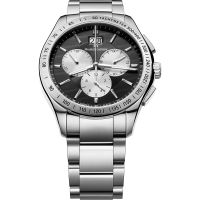 Maurice Lacroix Miros Herrkronograf Silver MI1028-SS002-332-1