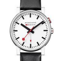 Herren Mondaine Schweizer Railways Wecker Uhr