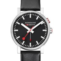 Mens Mondaine Swiss Railways Alarm Watch