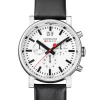Mens Mondaine Swiss Railways Chronograph Watch