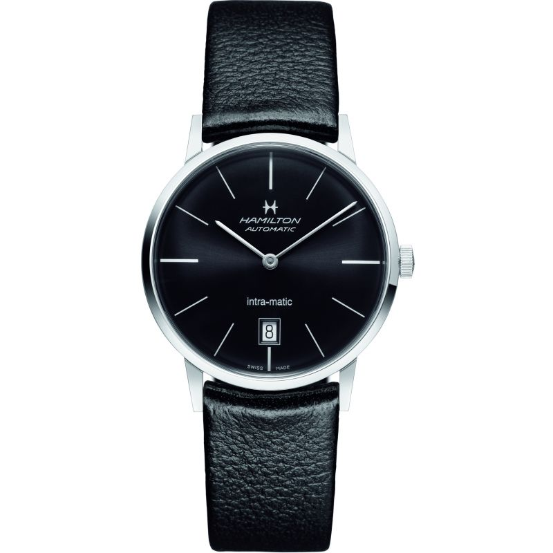 homme Hamilton Intra-Matic 38mm Watch H38455731