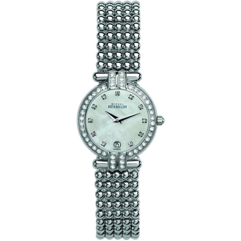 Damen Michel Herbelin Perle Watch 16873/44XB59