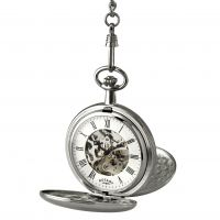 Rotary Tasche Skelett mechanisch Uhr