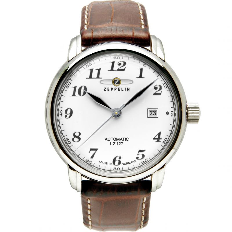 Mens Zeppelin LZ127 Automatic Watch 7656-4