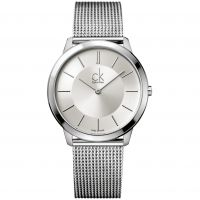 homme Calvin Klein Minimal 40mm Watch K3M21126