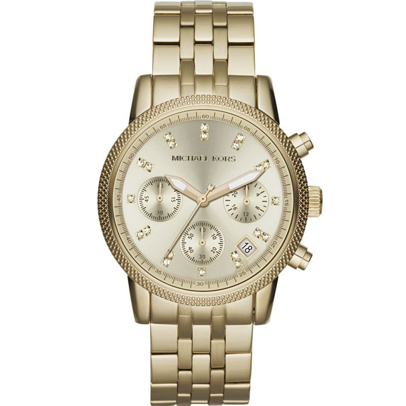 Ladies Michael Kors Ritz Chronograph Watch MK5676