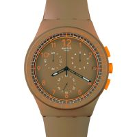 Mens Swatch Crazy Nuts Chronograph Watch