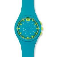 Mens Swatch Acid Drop Chronograph Watch