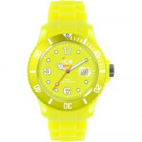 Big Ice-Watch Ice-Flashy - neon yellow big Watch