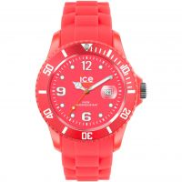 Ice-Watch Ice-Flashy - neon red extra big Herenhorloge Rood SS.NRD.BB.S.12