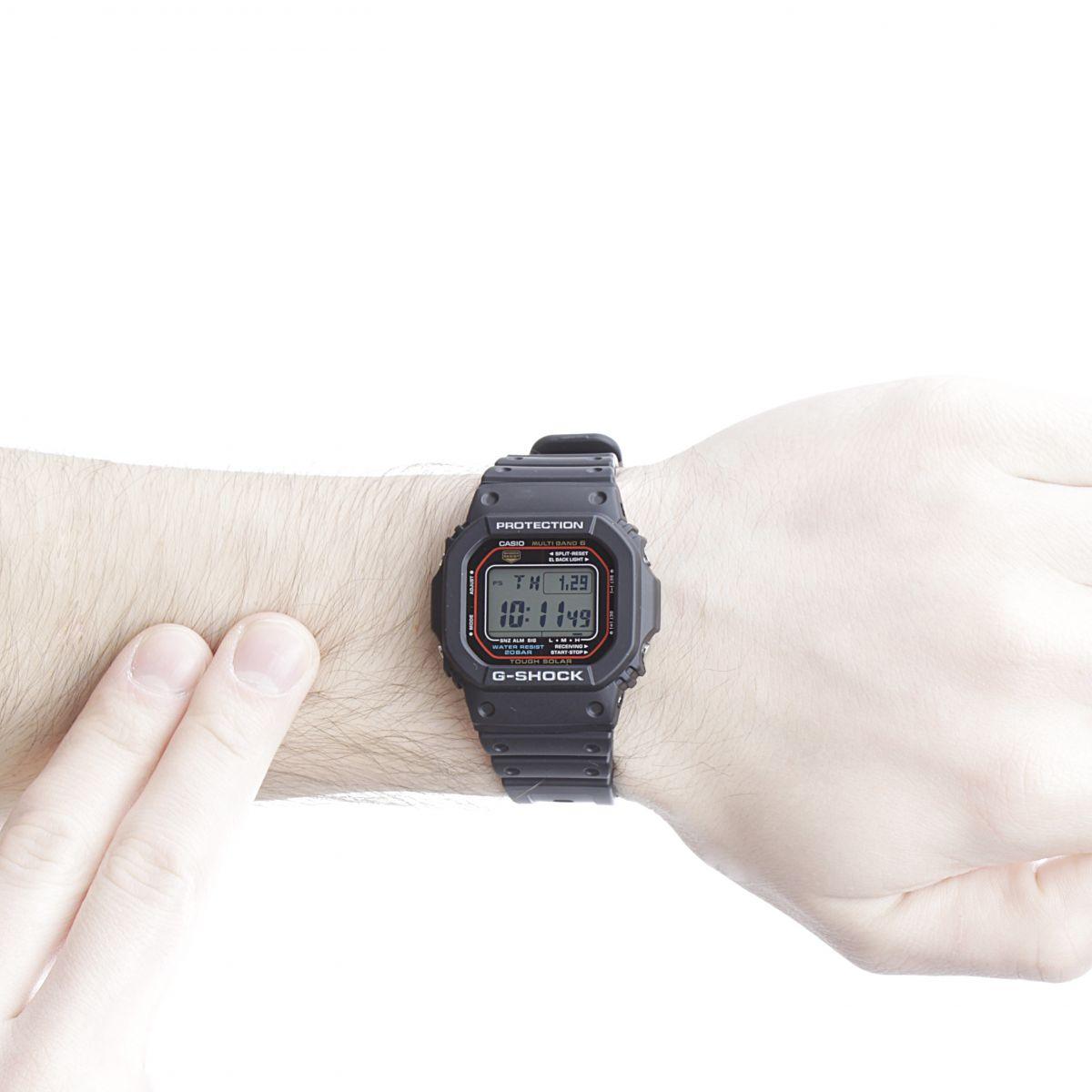 gents casio g shock alarm chronograph watch gw m5610 1er. Black Bedroom Furniture Sets. Home Design Ideas