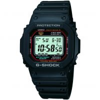 Mens Casio G-Shock Alarm Chronograph Radio Controlled Watch