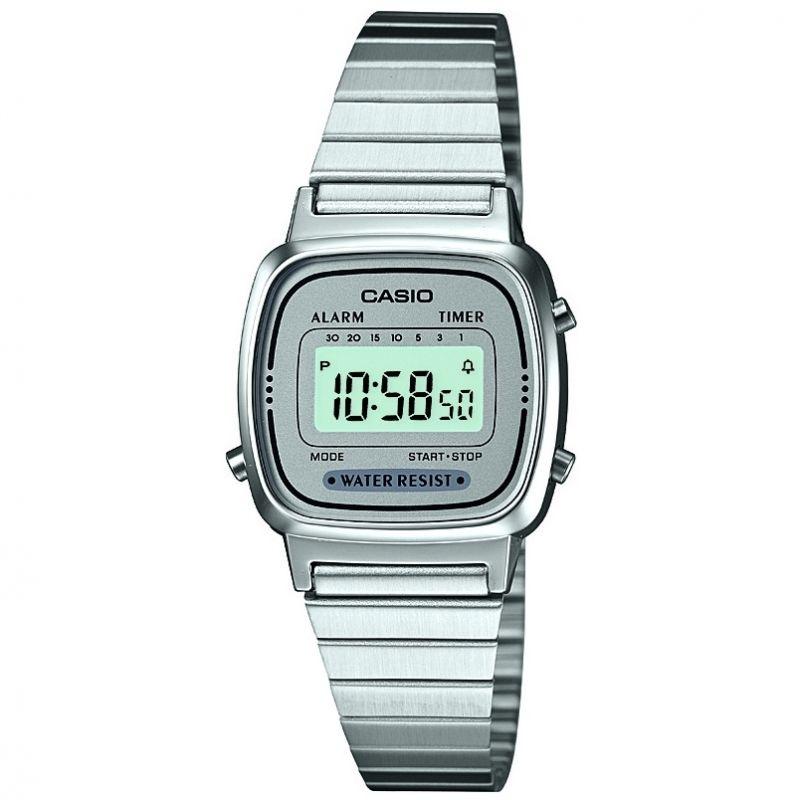 Damen Casio Classic Collection Alarm Chronograph Watch LA670WEA-7EF