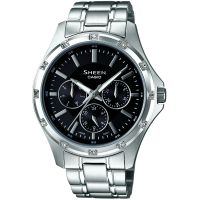 Damen Casio Sheen Watch SHE-3801D-1ADR
