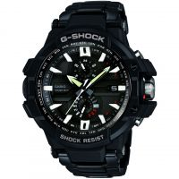 Mens Casio Premium G-Shock Gravity Defier Alarm Chronograph Radio Controlled Watch