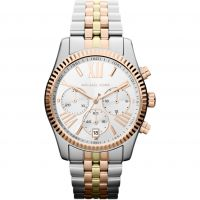 femme Michael Kors Lexington Chronograph Watch MK5735