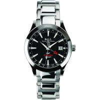 Herren Ball Engineer II Rot Label Chronometer GMT Automatik Uhr