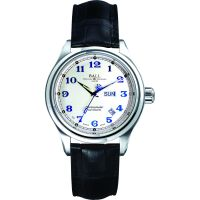 Herren Ball Trainmaster Cleveland Express Chronometer Watch NM1058D-LCJ-SL