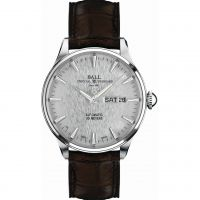 Herren Ball Trainmaster Eternity Watch NM2080D-LJ-SL