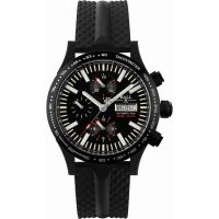 Herren Ball Fireman Storm Chaser DLC Glow Limited Edition Chronograph Watch CM2192C-P2-BK