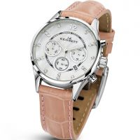 Damen Kennett Lady Savro Chronograph Watch LWSAVWHSILPK