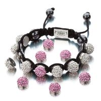 Ladies Shimla Stainless Steel Interchangeable Crystal Bracelet SH-110