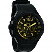 homme Nixon The Steelcat Chronograph Watch A313-1354