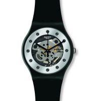 Herren Swatch Silber Glam Uhr