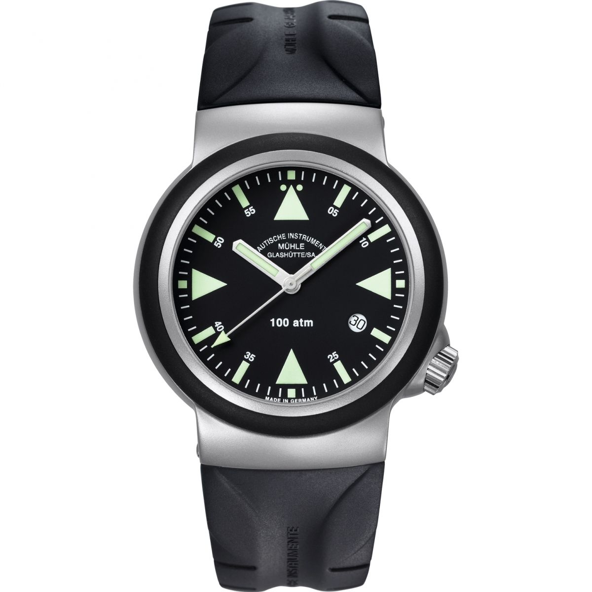 Gents muhle glashutte sar rescue timer watch m1 41 03 kb for Muhle watches