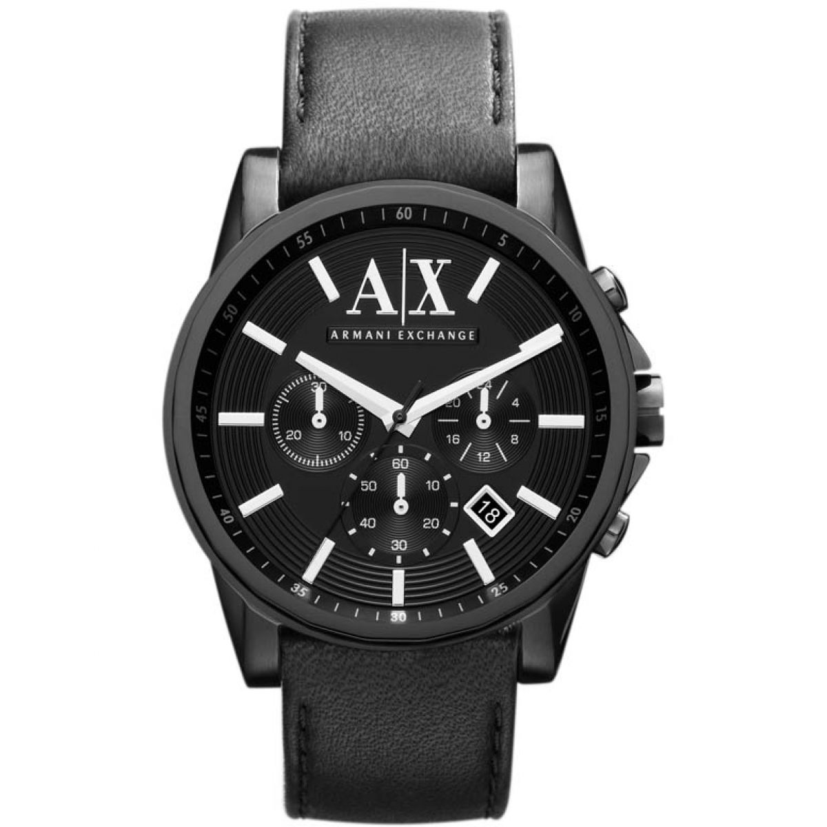 herren armani exchange chronograf uhren ax2098. Black Bedroom Furniture Sets. Home Design Ideas