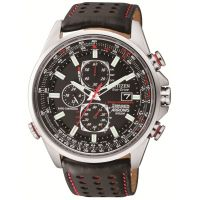 Mens Citizen Red Arrows A-T Chronograph Radio Controlled Eco-Drive Watch