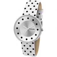 Damen Lambretta Cielo Dots Watch 2104WHI