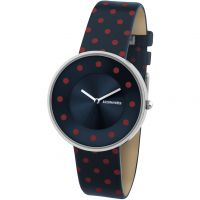 Damen Lambretta Cielo Dots Watch 2104BLU
