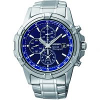 homme Seiko Alarm Chronograph Watch SSC141P1