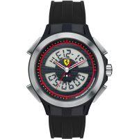 Herren Scuderia Ferrari SF102 Runde Zeit Wecker Chronograf Uhr
