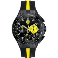 Mens Scuderia Ferrari SF103 Textures Of Racing Chronograph Watch
