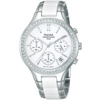 Damen Pulsar Chronograph Watch PT3305X1