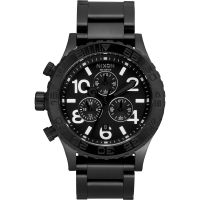 Nixon The 42-20 Chrono Herenchronograaf Zwart A037-001