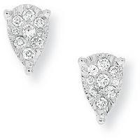 Weißgold Diamant Ohrringe