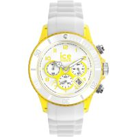 Ice-Watch Chrono Party Mid Unisexchronograaf Wit CH.WYW.U.S.13