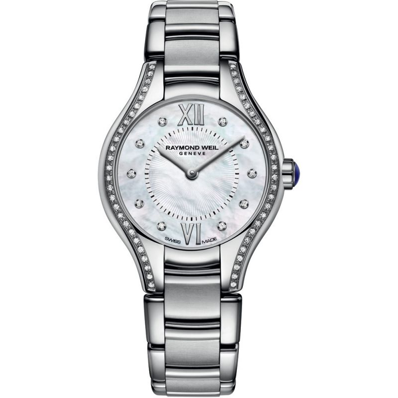 femme Raymond Weil Noemia 24mm Diamond Watch 5124-STS-00985